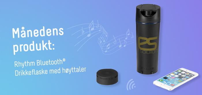 rhythm bluetooth høyttalerflaske